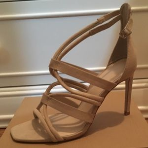 Zara Heel Sandal in Arena Size 11
